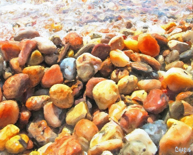Each Stone on the Beach