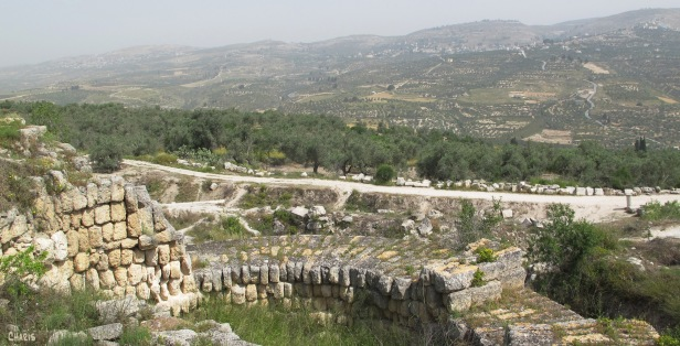 Herod's tower at Samaria