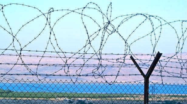 Dead Sea Fence