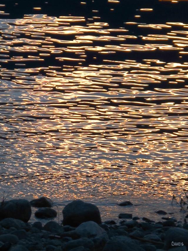 Dusk on Kootenay Lake