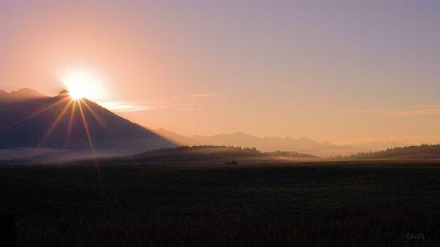 Sunrise, Steeples Range