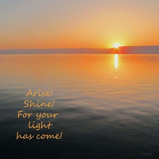 IMG_8152 Arise dawn on Galilee