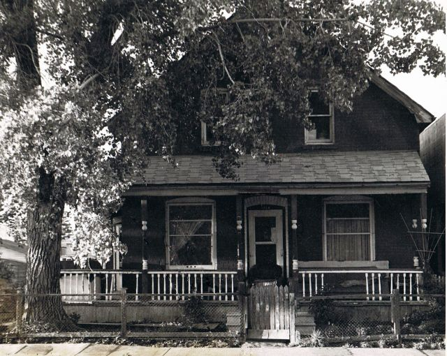 The old boarding house before they replaced it with a mall.