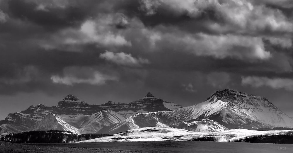 IMG_8519 Pincher Creek Mountains bw