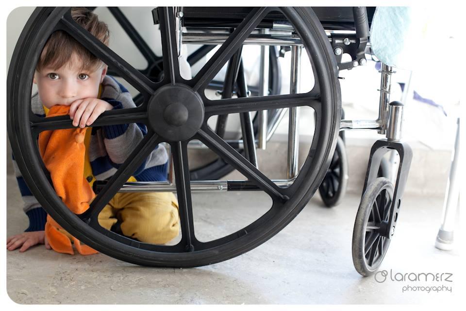 boy wheelchair