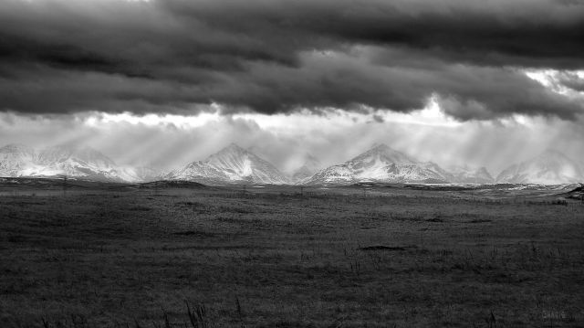 IMG_1729 mountains near Pincher Creek bw ch