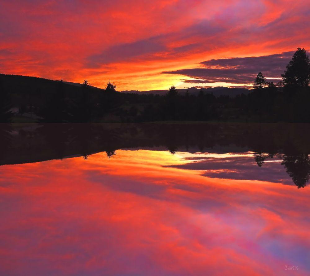 IMG_5834 sunset idlewild reflection ch