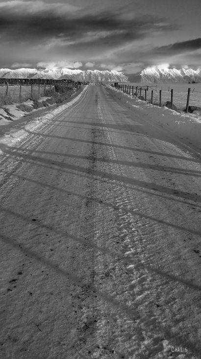Down the same old road