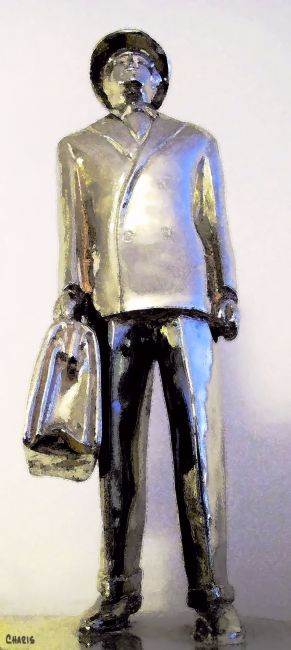 trophy business metal man ch nr