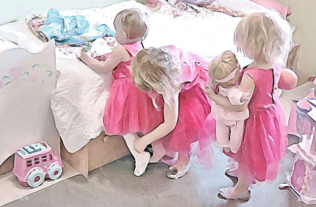 pretty in pink gouache sm ch