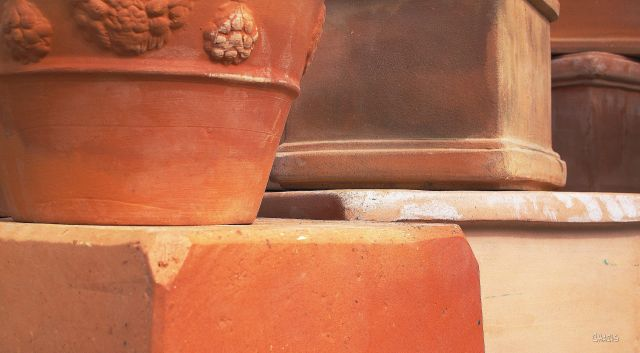 terracotta clay pots ch