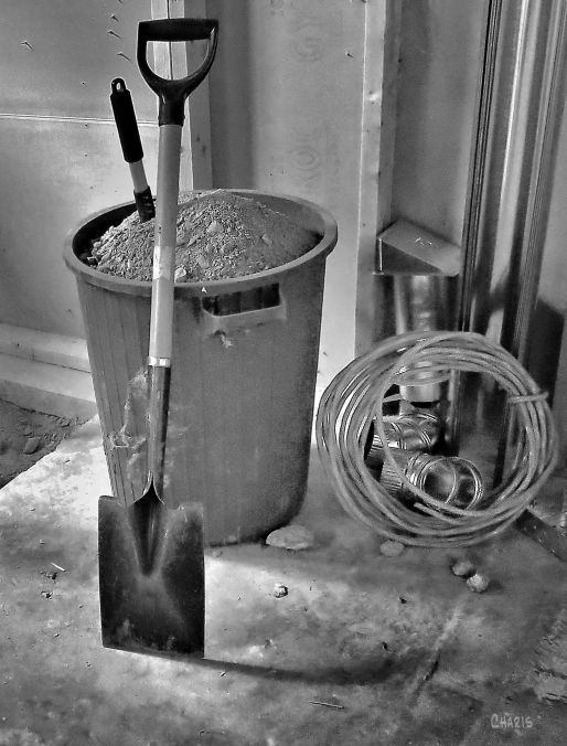basement shovel bin construction IMG_4982