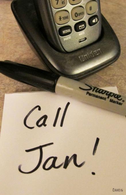 Call Jan