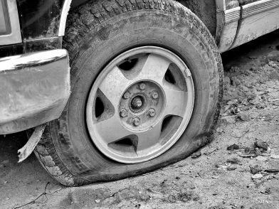 IMG_1515 flat tire bw ch