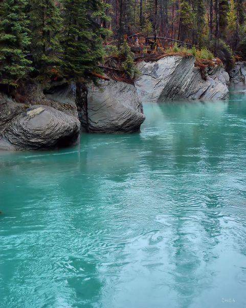 DSC_0037 turquoise stream ch kootenay park