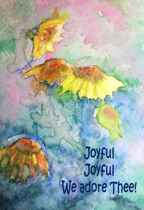 joyful painting watercolour yellow flowers ch 1 IMG_0259
