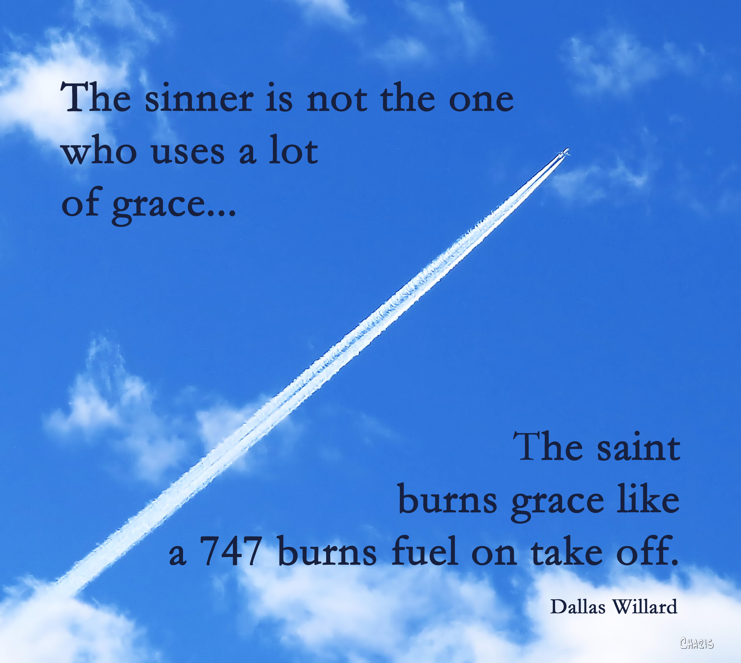 saint burns grace poster willard  IMG_0765