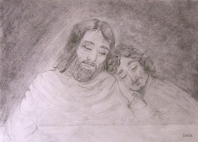 pencil  Jesus John ch IMG_1093