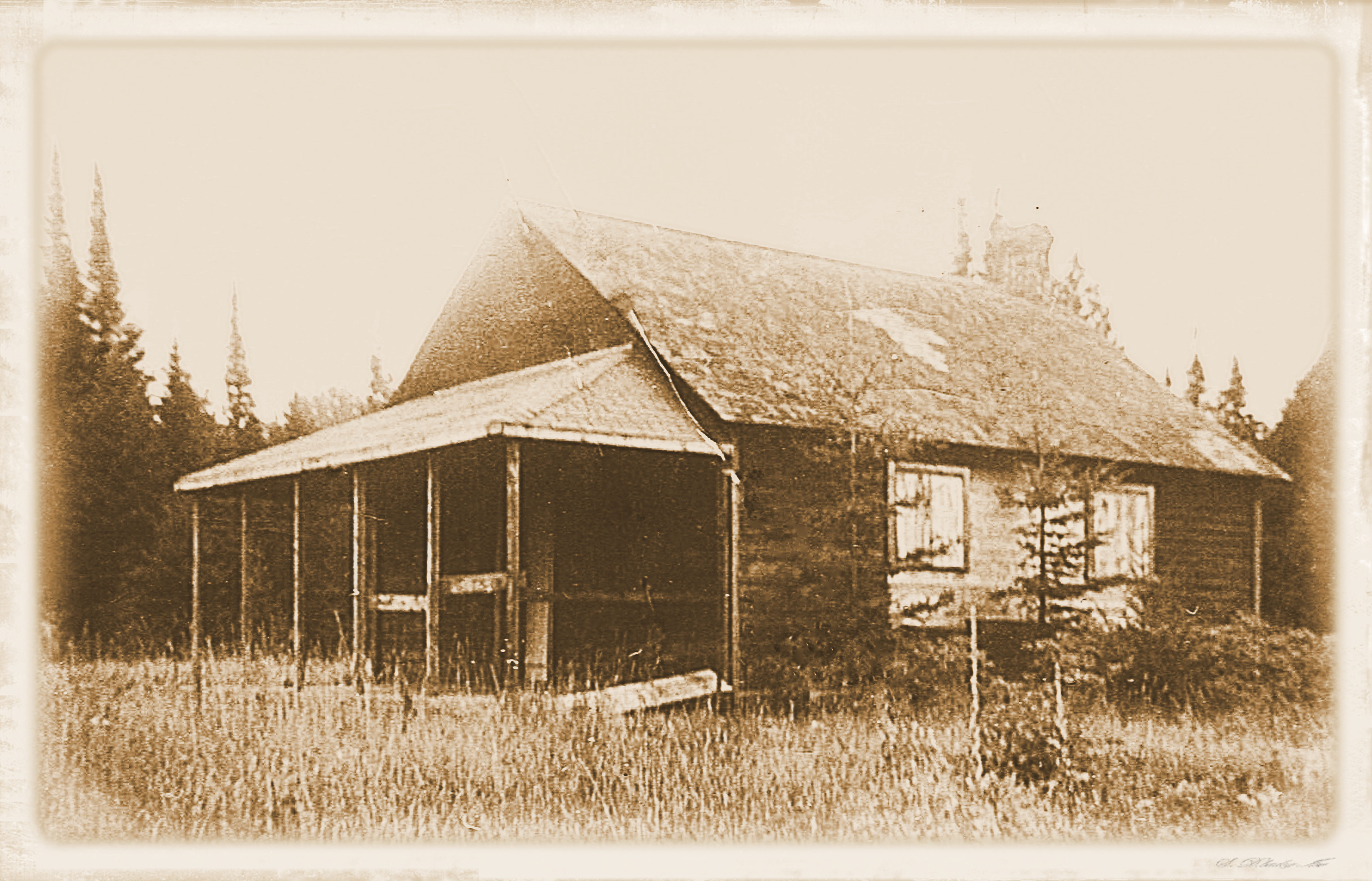 School in Bark Lake