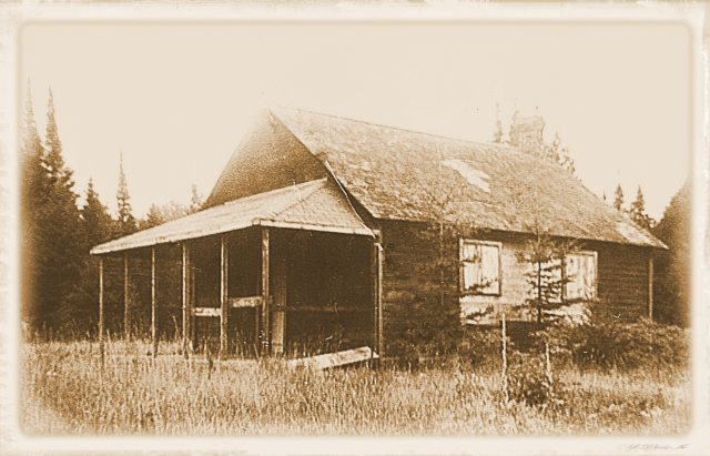 School in Bark Lake