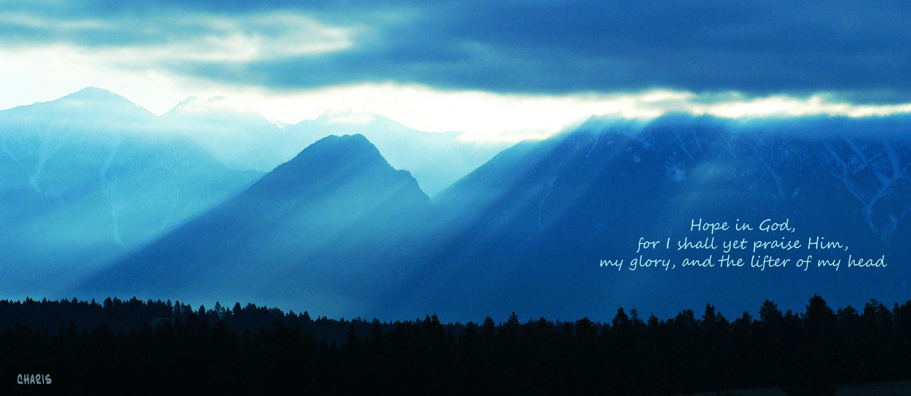 hope in god steeplerays blue charis