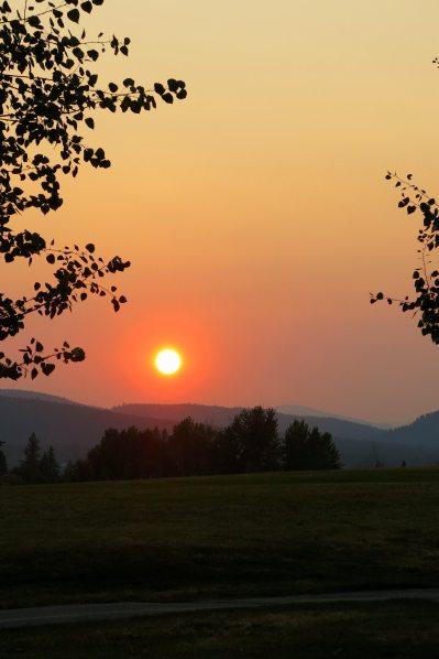 kin park sunset fire season IMG_8962