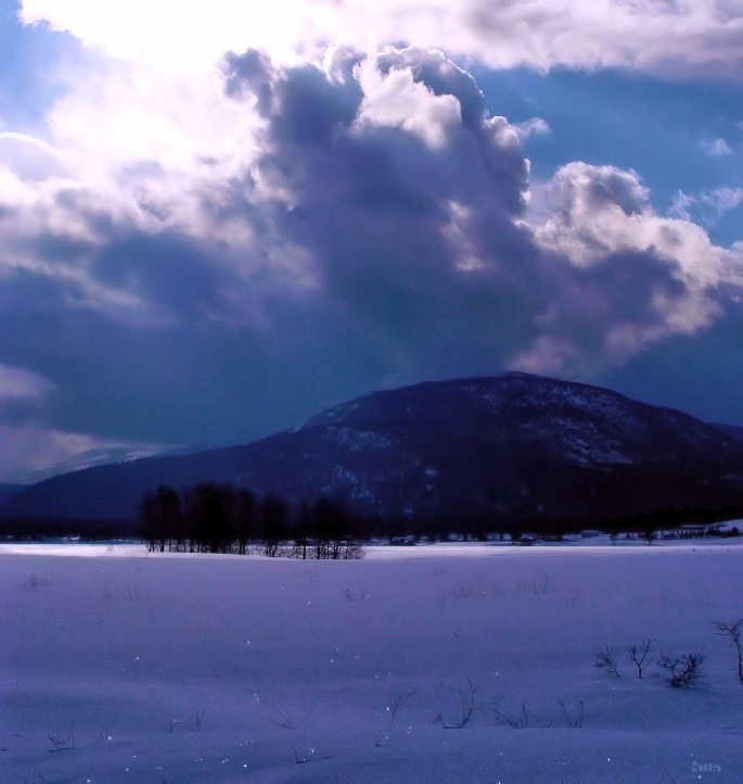 Purcells snow clouds