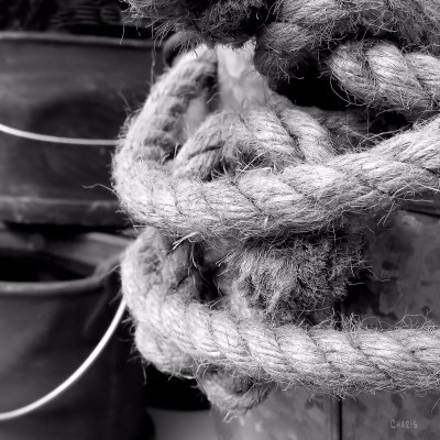 rope and pails ch bw IMG_4053