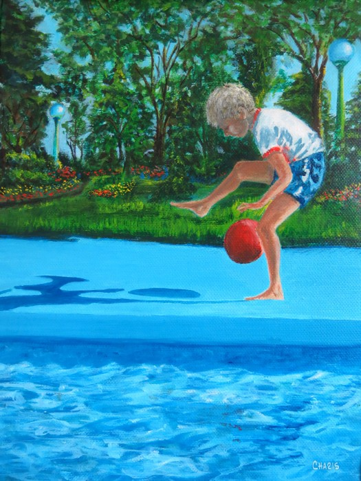 boy pool ball painting ch IMG_5038