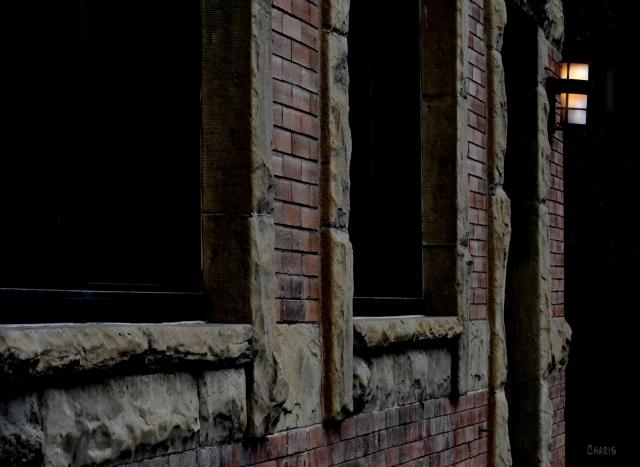 brick building window door light DSC_0394